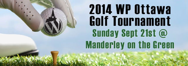 WP Ottawa 2014 Golf Tournament
