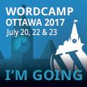 WordCamp Ottawa 2017 I'm Going
